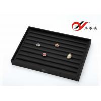 Wholesale 8 Grooves Jewelry Display Trays Color Customized With Silk Cotton Finishing from china suppliers