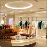 Buy cheap Customize retail garment store furniture of clothing  display furniture and clothing store from wholesalers