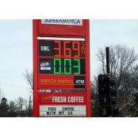 Wholesale Led Gas Station Signs Wireless Digital Gas Station Price Signs With Light Weight from china suppliers