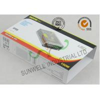 Quality Custom Glossy Varnished  Electronics Packaging Boxes With CMYK Color Printing for sale