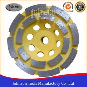 China Soft Medium Hard Bond Diamond Grinding Wheels For Fast Grinding Double Row on sale