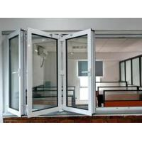 Wholesale House Accordion Glass Windows / Soundproof Aluminium Bi Fold Windows from china suppliers