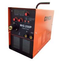MIG250P Pulse Aluminum Welding Machine 9.2KVA with Digital Control Easy to Move
