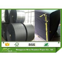 Wholesale Single Side 120gsm Black Paper Reels / Black Paper Board Sheets from china suppliers
