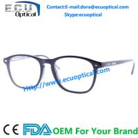 Wholesale oval shaped acetate frames optical frames acetate eyeglasses from china suppliers