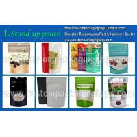 Wholesale Plastic Custom Packaging Stand Up Resealable Pet Food Bag With Zipper from china suppliers