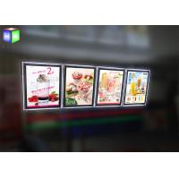 Wholesale Indoor Crystal Frame Movie Poster Display Box Free Standing 6MM Thcikness from china suppliers