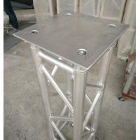 Wholesale 350*350*8mm Aluminum Spigot Plate Table for Beam  Lights on 1 Meter Truss from china suppliers