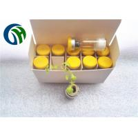 Wholesale White Powder Peptide CJC 1295 without DAC purity over 99% Yellow Cap color from china suppliers