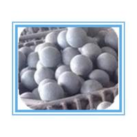 Wholesale HRC 55-65 Forged Grinding Media Balls For Mining , High hardness from china suppliers