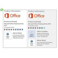 Wholesale Office Product Key Card Office 2016 Professional Retail Version from china suppliers