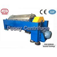 Wholesale Waste Water Decanter Centrifuges for Steel Factory Sludge Dewatering from china suppliers