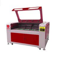 180W Leather Laser Cutting Machine , Leather Engraving Machine For Shoe Vamp / Sole