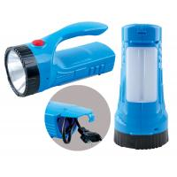 Wholesale 1 Watt 600mAh AC Plug In LED Rechargeable Torch With Side Lights from china suppliers