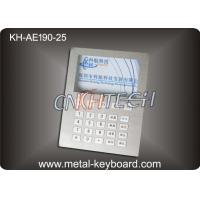 Wholesale Custom Layout Stainless Steel Keyboard  ,  Digital Kiosk Keypad with 25 Keys from china suppliers
