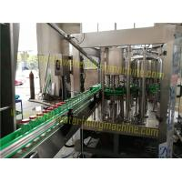 Wholesale Green Tea , Black Tea , Juice , Glass Bottle Filling Machine 380v 50hz from china suppliers