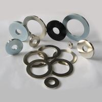 Buy cheap Ndfeb magnet 0.5-0.125x0.25inch ring from wholesalers