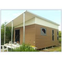 Wholesale Australia Style Prefabricated House Kits , Modern Prefab House With WPC cladding from china suppliers