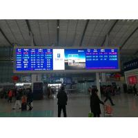 Wholesale P5mm SMD2121 Indoor Advertising LED Display Or Railway Station Message Board from china suppliers