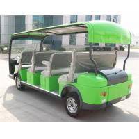 Wholesale Popular 4.0KW 11 Seater Electric Tour Buswith DC Motor With CE Green Color from china suppliers