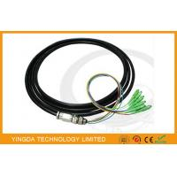 Wholesale 6 Core SC / APC Fiber Optic Pigtail singlemode 9/125 um OS2 LSZH 15 Meter 0.9mm from china suppliers