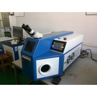 Wholesale Gold Welding Machine Blue Color , Laser Soldering Machine For Advertising Words from china suppliers