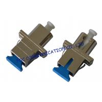 Wholesale LC - SC Hybrid Optical Fiber Adapter , Singlemode Fiber Optic Cable Adapter from china suppliers
