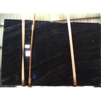 Buy cheap Black Wooden Marble Wall &Floor Covering, Black Wood Grain Marble, China Black from wholesalers