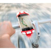 Quality Universal Durable Non-slip Silicone Band Bike Phone Mount Holder for iPhone 7 7 Plus 6 6 Plus for sale