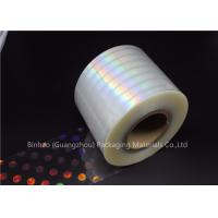 Wholesale Anti Fake BOPP Holographic Laser Flexible Packaging Film Multiple Extrusion Thickness from china suppliers