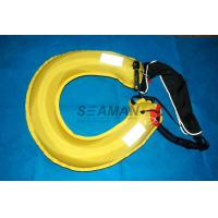 Wholesale Inflatable Lifebuoy Ring 110N Buoyancy Personal Flotation Device Water Rescue Ring from china suppliers