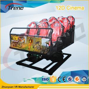 Quality 2DOF / 6DOF Roller Coast Ride Platform 5D Cinema Equipment VR Driving Simulator for sale