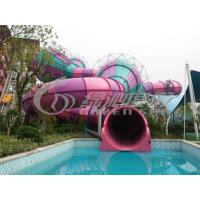 Wholesale Adults Outdoor Colorfull Fiberglass Water Slides Equipment for Water Sport Games from china suppliers