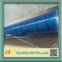 Wholesale Packing Bag Light Blue Clear Transparency Film PVC Waterproof from china suppliers