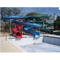 Wholesale Custom Pool Water Slides For Holiday Resort Toddler Water Slide from china suppliers