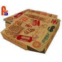 China High Safety Paper Food Packing Box Matt Lamination Surface Finish For Pizza on sale