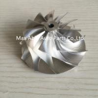Wholesale GT15-25 53.53X69mm 11+0 Blades billet turbocharger compressor whee from china suppliers