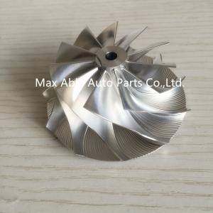GT15-25 53.53X69mm 11+0 Blades billet turbocharger compressor whee