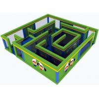 Wholesale Durable Green Maze Game For Chilren, Inflatable Chilren Park Games from china suppliers