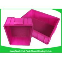 Wholesale Top Plastic Solid Euro Stacking Containers Reusable For Fruit And Vegetable from china suppliers