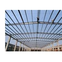 Quality Prefabricated Structure Steel Shed With Gable Roof Or Mono-pitch Roof for sale