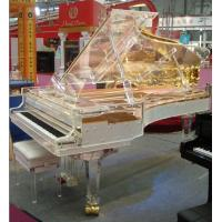Wholesale Full Transparent  Acrylic Grand Piano-The most exclusive handmade Crystal Grand Pianos from china suppliers