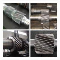 Quality High Alloy Steel Machined Forged Steel Shaft , ASTM BS Change Gear Shaft Forging for sale