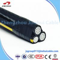 Wholesale Duplex Wire Overhead Service Conductors AAAC , Ouside Aerial Messenger Cable from china suppliers