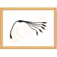 Wholesale Male To Female Custom Power Cables DC12V 5.5X2.1 Mm 1 To 5 Y Type from china suppliers