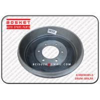 Wholesale Rear Brake Drum Isuzu D MAX Parts 8980303850 8-98030385-0 , Net Weight 9.1kg from china suppliers