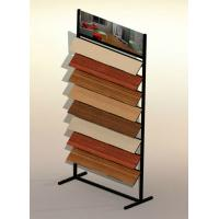 Wholesale Hardwood Tile Waterfall Display Rack , Flooring Display Stand from china suppliers