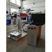 Wholesale Split Aluminum Alloy Tale Fiber Laser Marking Machine On Metal / Non - Mental from china suppliers