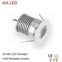 Wholesale 1W AC/DC12V IP42 LED spot light/LED led down lighting/led cabinet lamp for shops ceiling from china suppliers