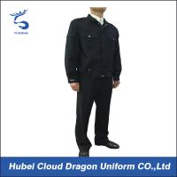 Wholesale Dark Blue Police Security Officer Uniforms For Public Safety Protection , Color Customized from china suppliers
